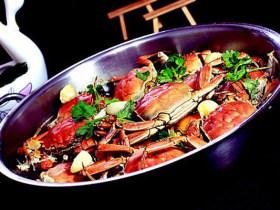 铁锅蒜子河蟹