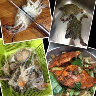 葱姜炒飞蟹2