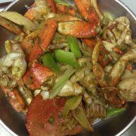 葱姜炒飞蟹1