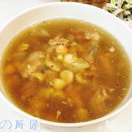 鲜莲子百合排骨汤