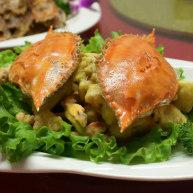 蛋黄焗飞蟹
