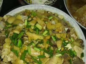 姜葱白切鸡