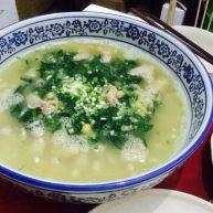 豌豆泥滑肉汤