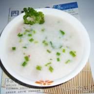 鱿鱼瘦肉粥