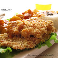 黄金咖喱猪排饭