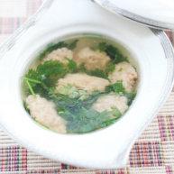 香菜虾滑汤