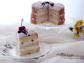 樹莓巧克力蛋糕