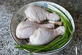 葱油鸡,材料备齐