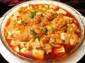 魚籽燒豆腐