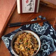 香菇麻油鸡米饭