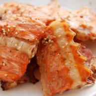 辣烤三文鱼排