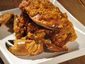新加坡辣椒螃蟹