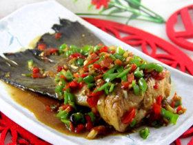 香茅剁椒三文鱼尾
