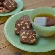 碳烧腰果巧克力饼干