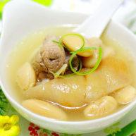 白芸豆肘子汤
