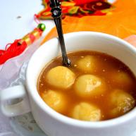 姜汁红糖汤圆
