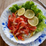 泰式大虾粉丝沙拉