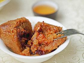 瑶柱酱肉粽
