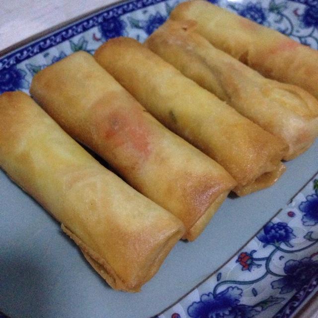 上海年夜饭必备---三丝春卷的正宗家常做法|教你做出