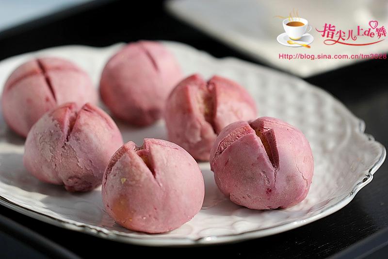 紫薯椰蓉酥的做法和步骤第23张图
