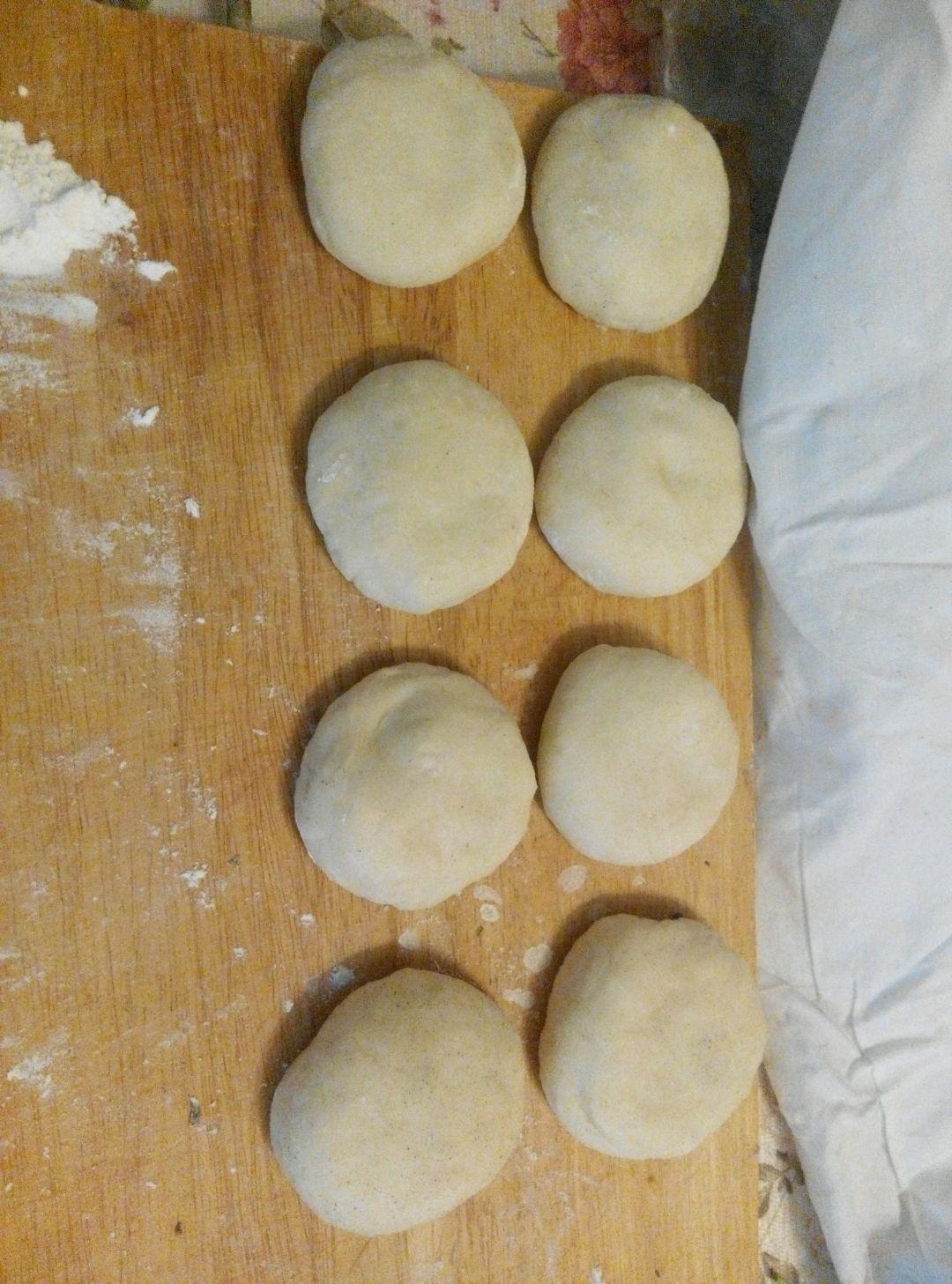 紫米红豆饼的做法和步骤第5张图