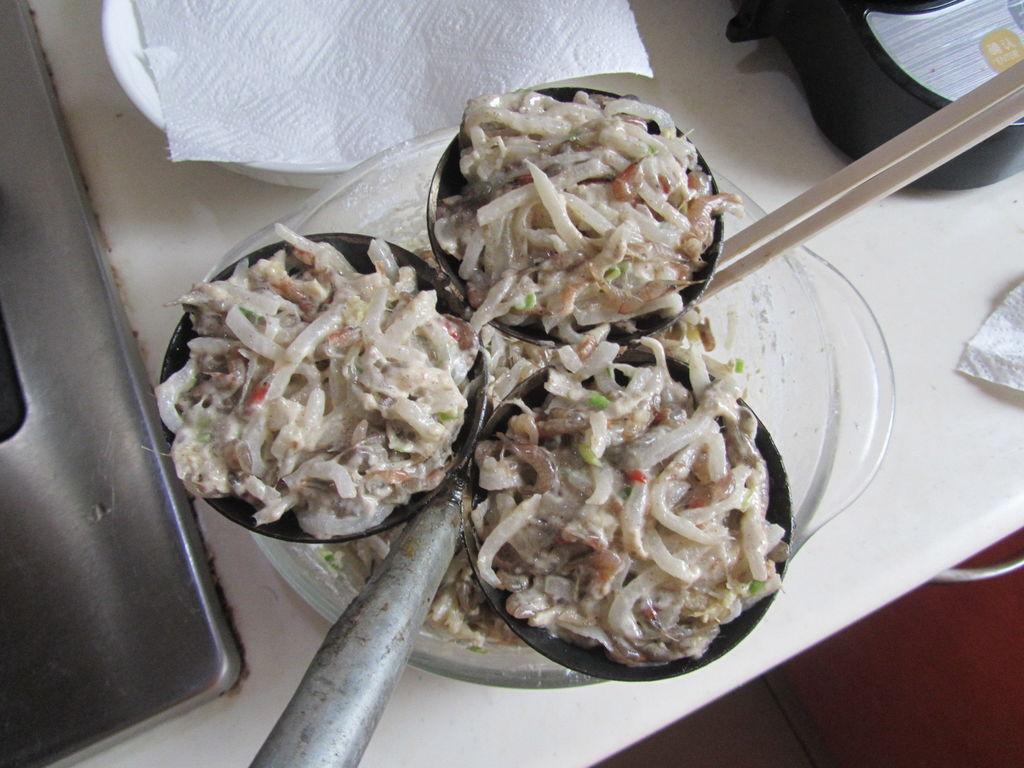河虾萝卜丝饼的做法和步骤第6张图