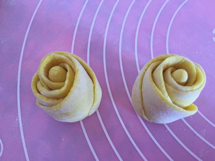 南瓜玫瑰花的做法和步骤第10张图