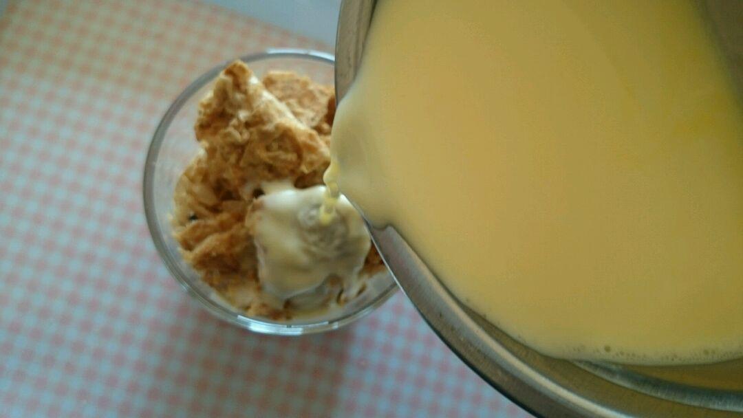 香蕉蛋奶布丁风的做法和步骤第7张图