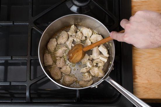 清新鸡腿肉乌冬的做法和步骤第2张图