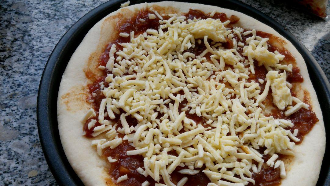 田园烤肉披萨的做法和步骤第4张图