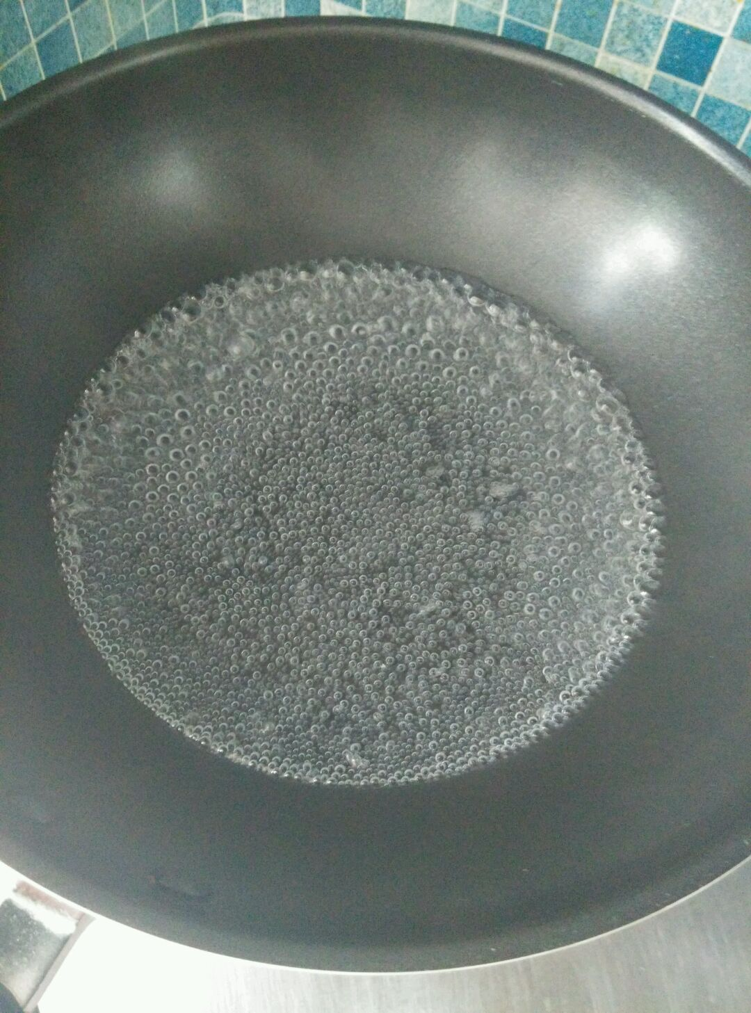 酸辣搅团的做法和步骤第3张图