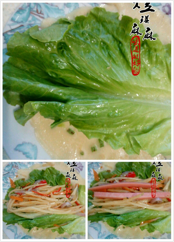 土豆絲卷餅的做法和步驟第16張圖