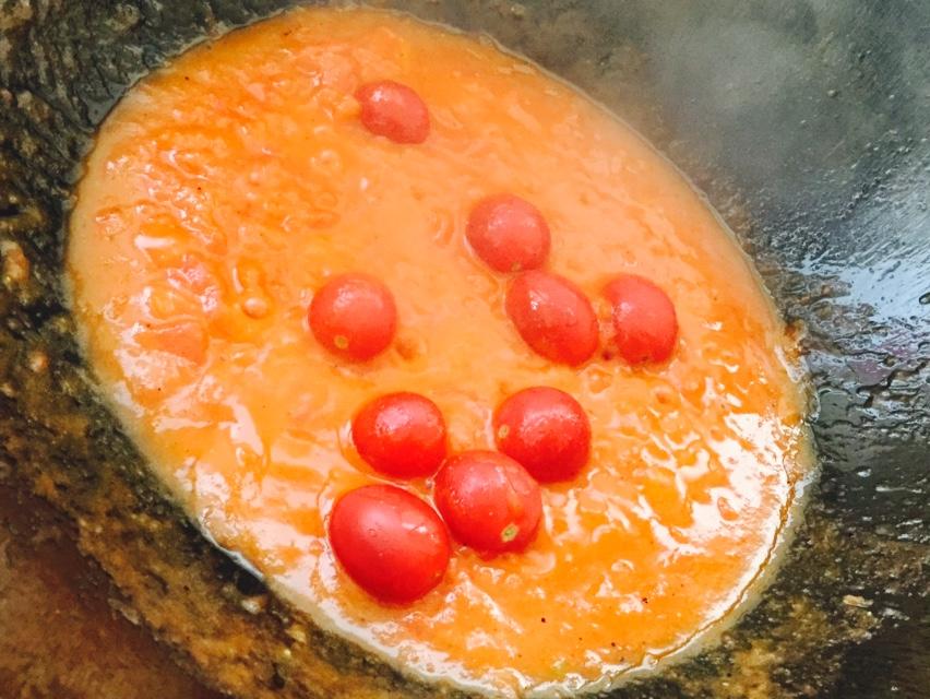 茄汁鸡蛋仔的做法和步骤第9张图