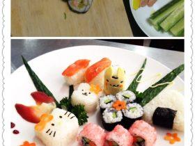 花样寿司拼盘
