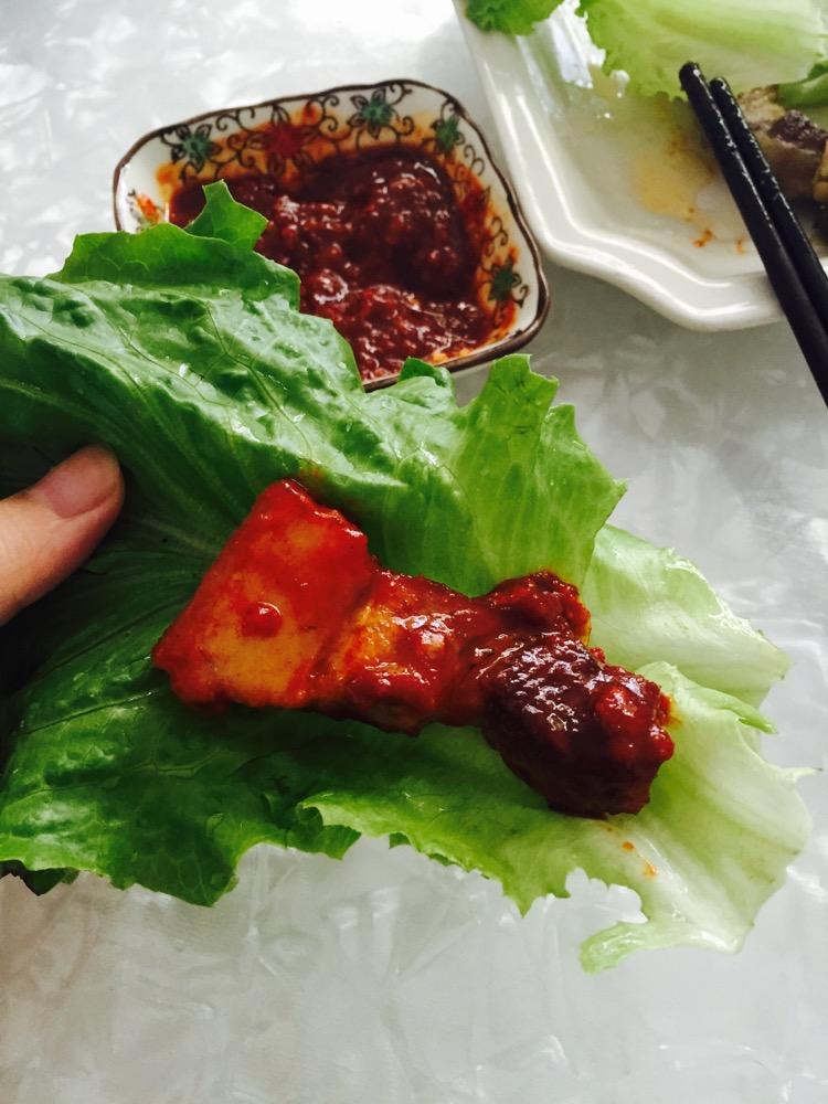 五花肉包生菜主图