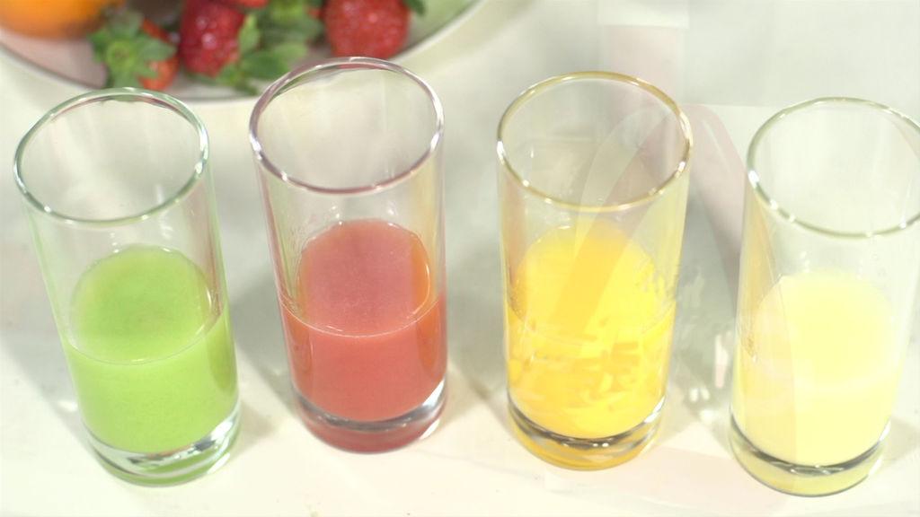 彩虹果汁的做法和步驟第10張圖
