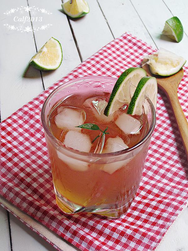 自制柠檬冰红茶主图