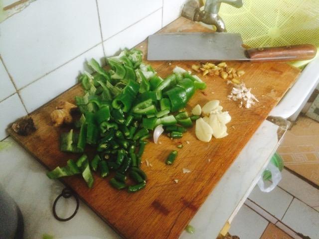 干煸鸡的做法和步骤第4张图