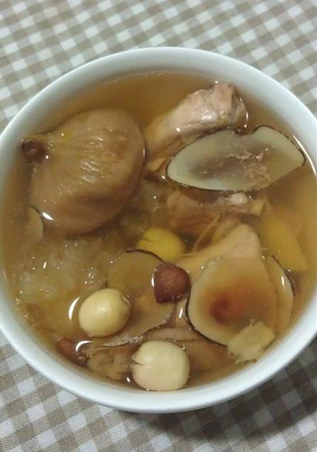海底椰无花果鹧鸪瘦肉汤的做法和步骤第8张图