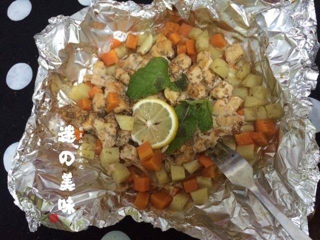 新奥尔良烤鸡胸肉的做法和步骤第6张图