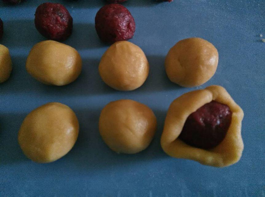 蔓越莓酥的做法和步骤第6张图
