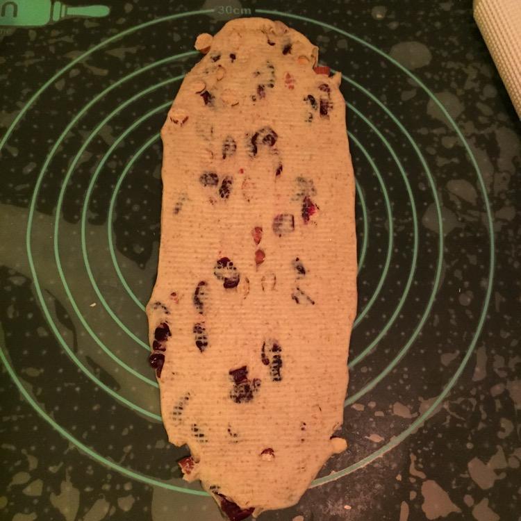 蔓越莓杏仁杂粮乳酪吐司的做法和步骤第8张图