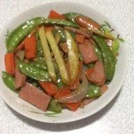 香肠荷兰豆