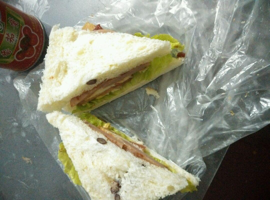 火腿三明治的做法和步骤第3张图