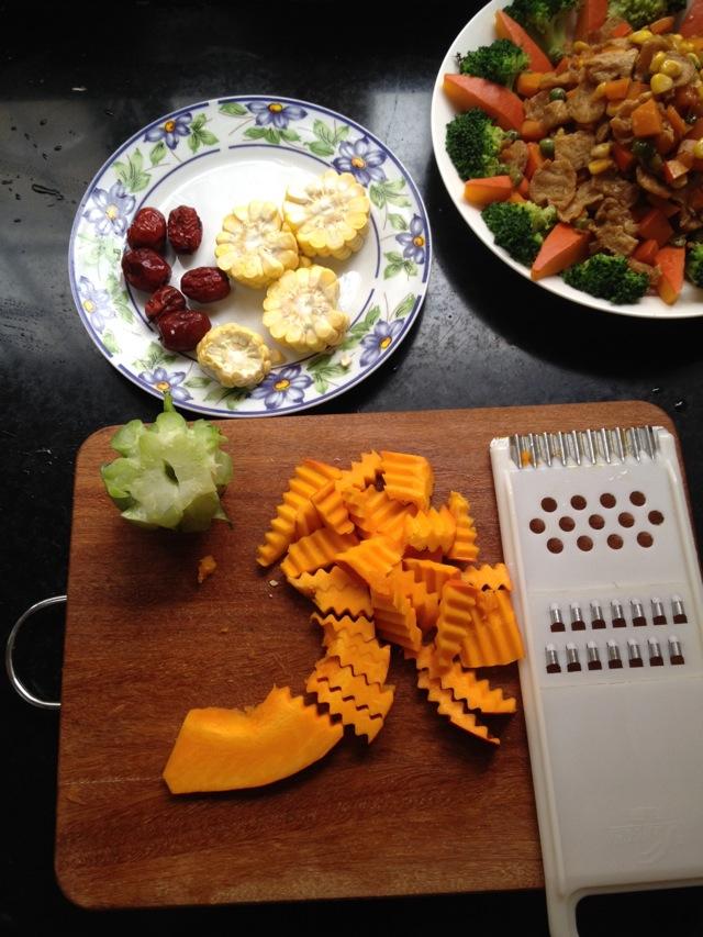 金瓜素汤的做法和步骤第1张图