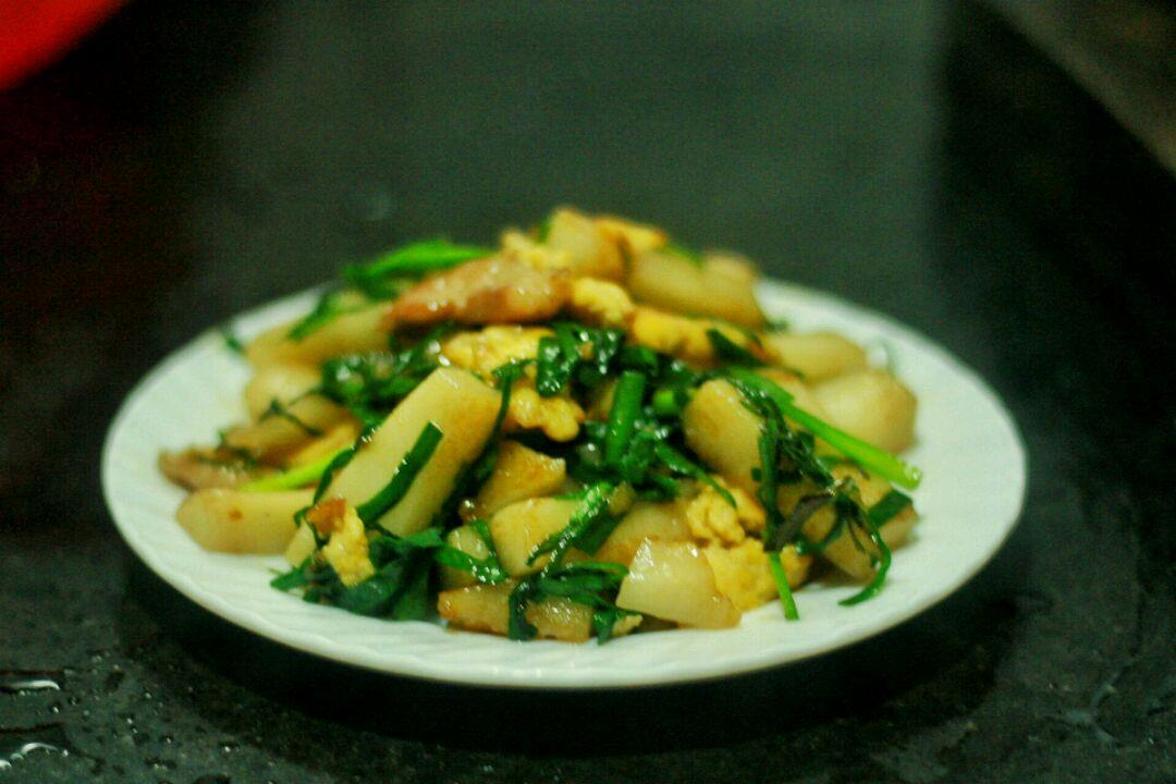 台州菜:红糖炒年糕的做法和步骤第6张图