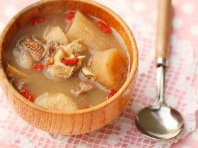 淮山核桃煲骨头汤