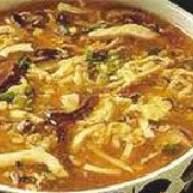 豆腐鸡血瘦肉汤