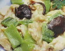 仙人掌鸡片香菇