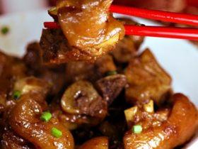 发菜蚝豉炖猪手
